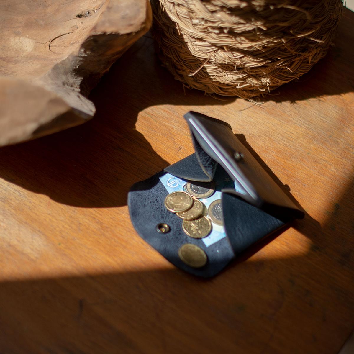 Talbin Shoemaker purse - Navy Blue (image n°5)