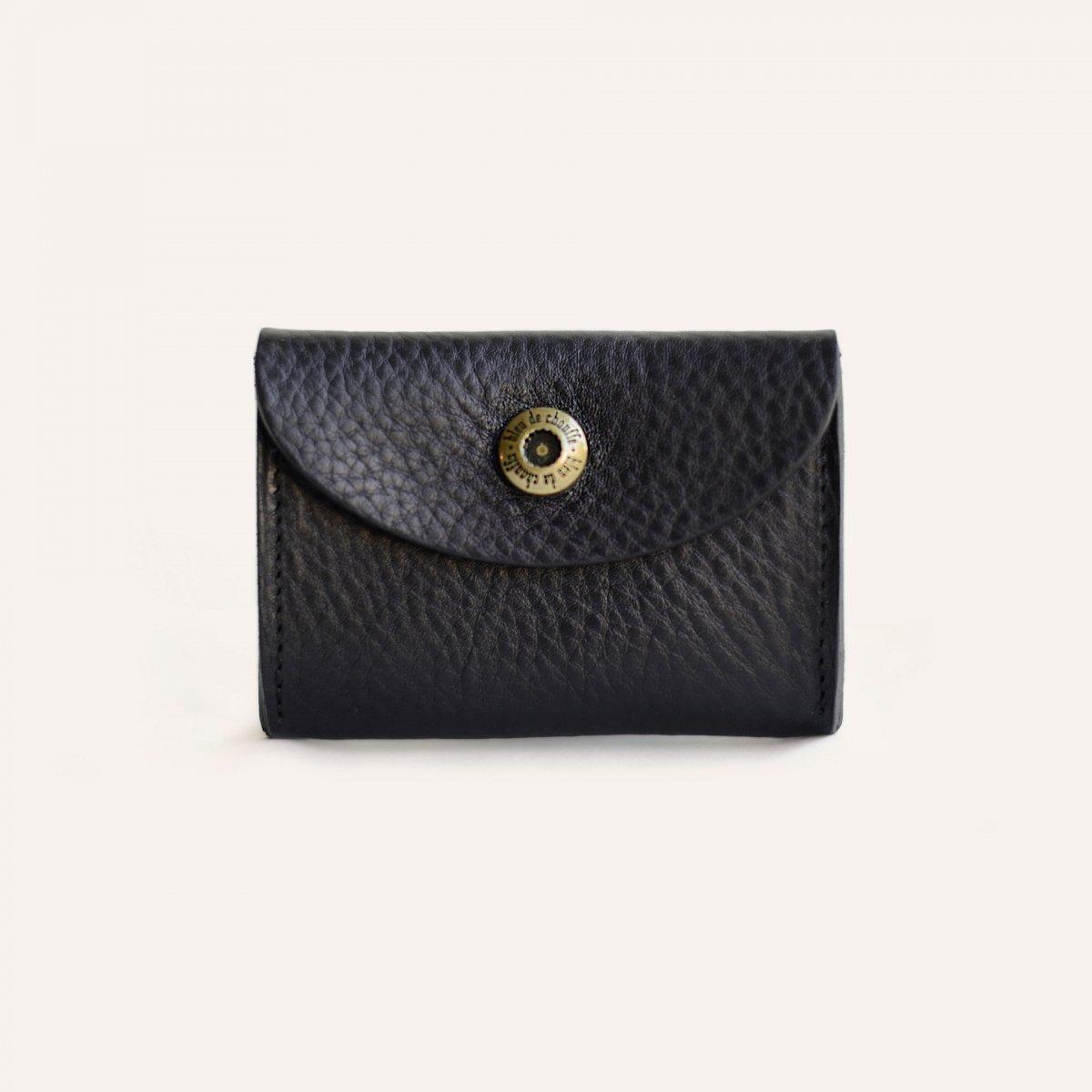 Talbin Shoemaker purse - Black (image n°1)