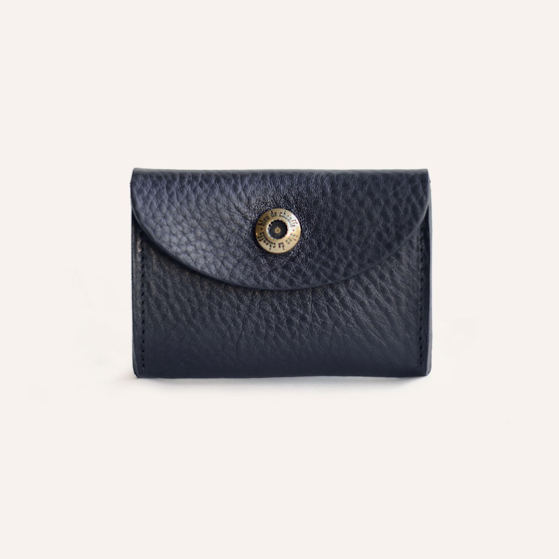 Talbin Shoemaker purse - Navy Blue (image n°1)
