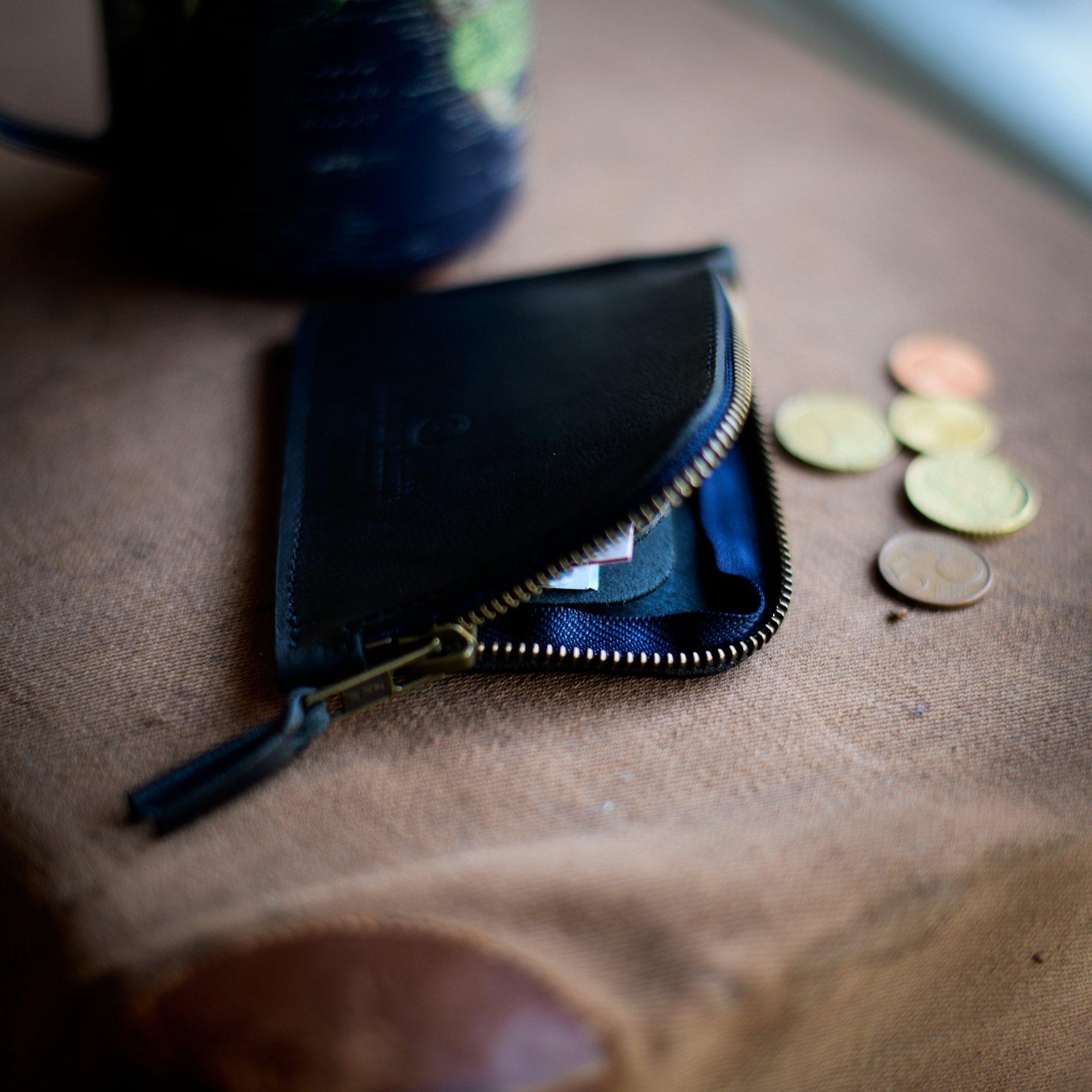 Porte monnaie zippé As / M - Noir (image n°5)