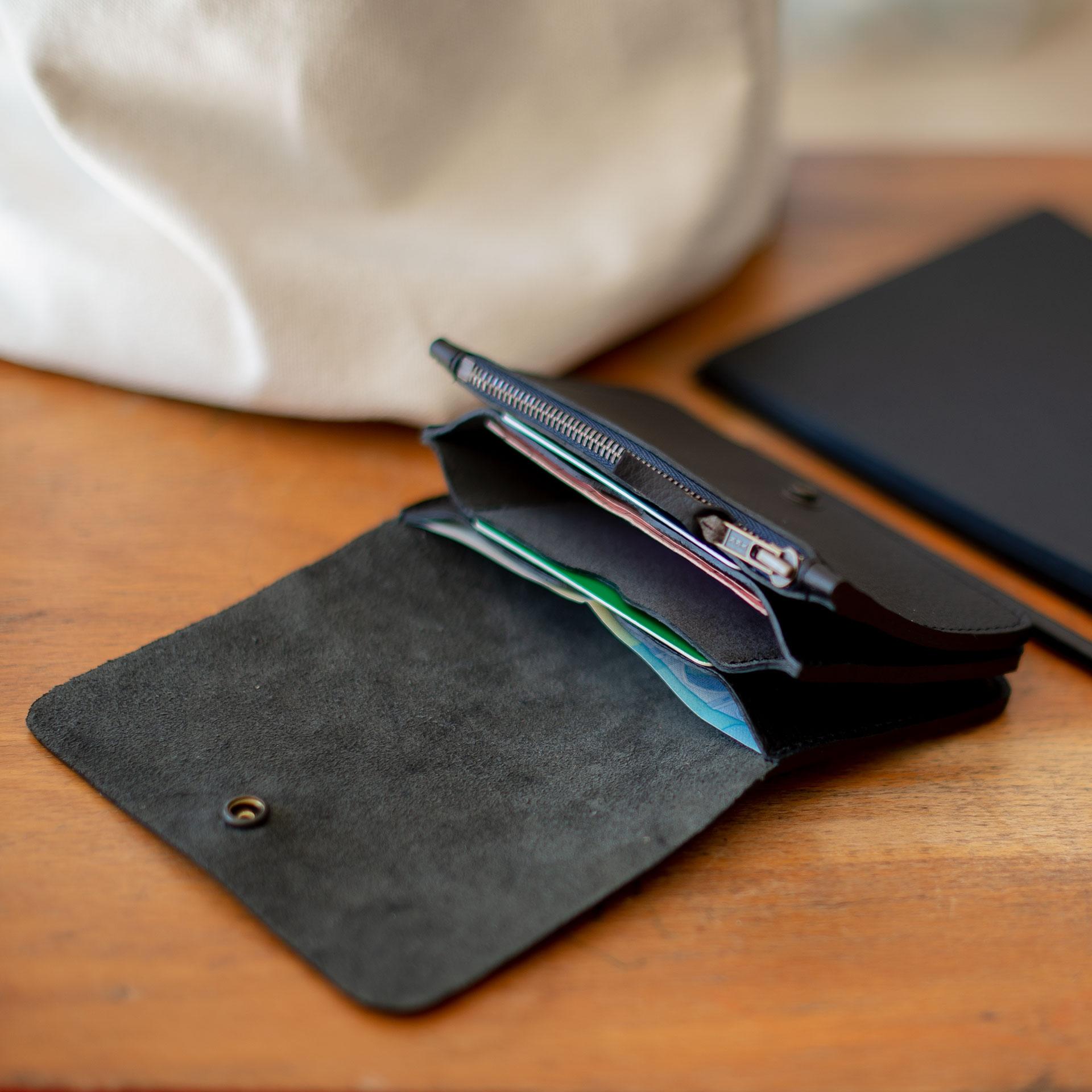 Grisbi wallet - Black (image n°6)
