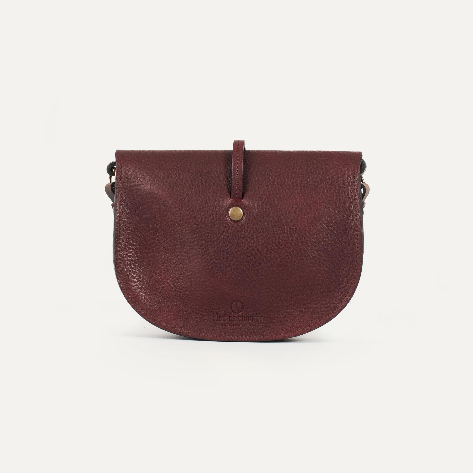 Java mini Postman bag - Peat (image n°3)