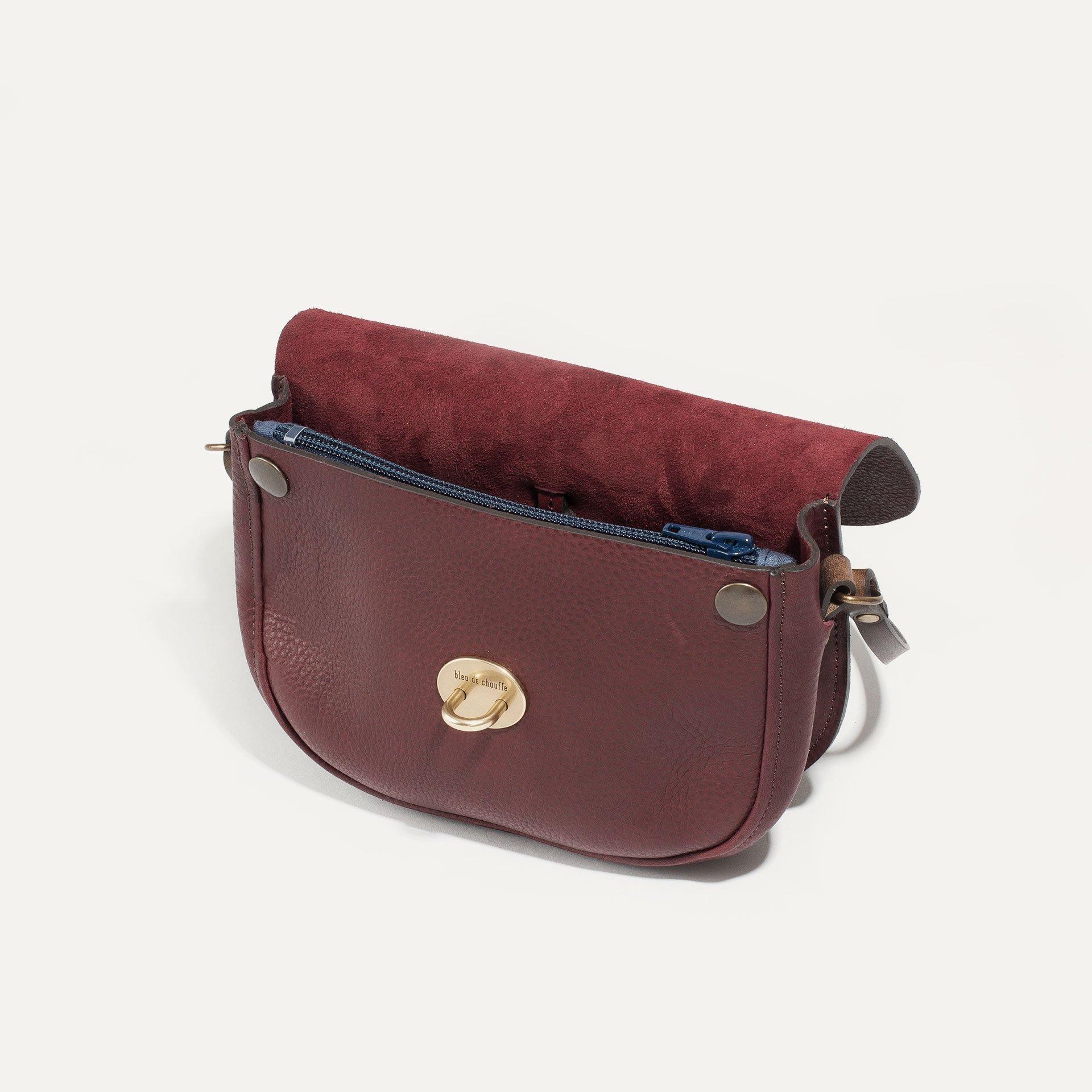 Java mini Postman bag - Peat (image n°4)