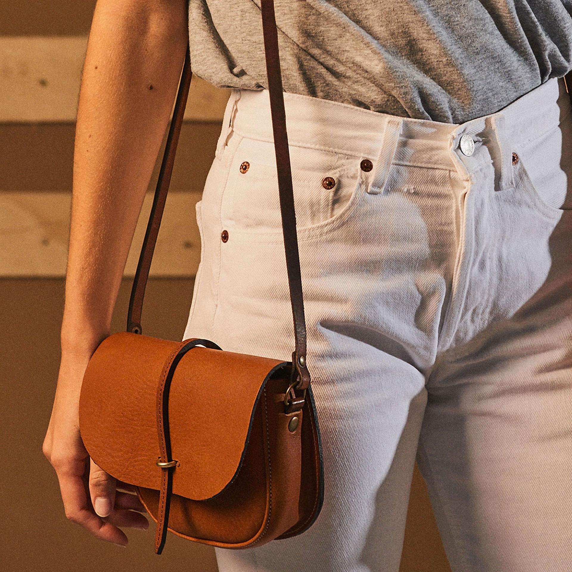 Java mini Postman bag - White (image n°5)