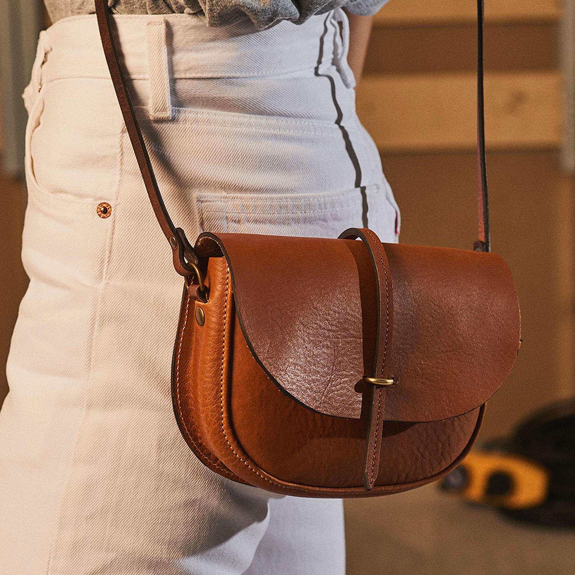 Java mini Postman bag - White (image n°6)
