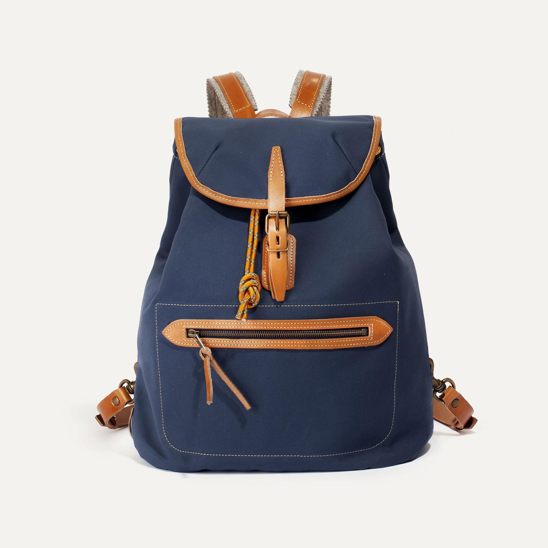 Camp backpack - Marine Blue (image n°1)
