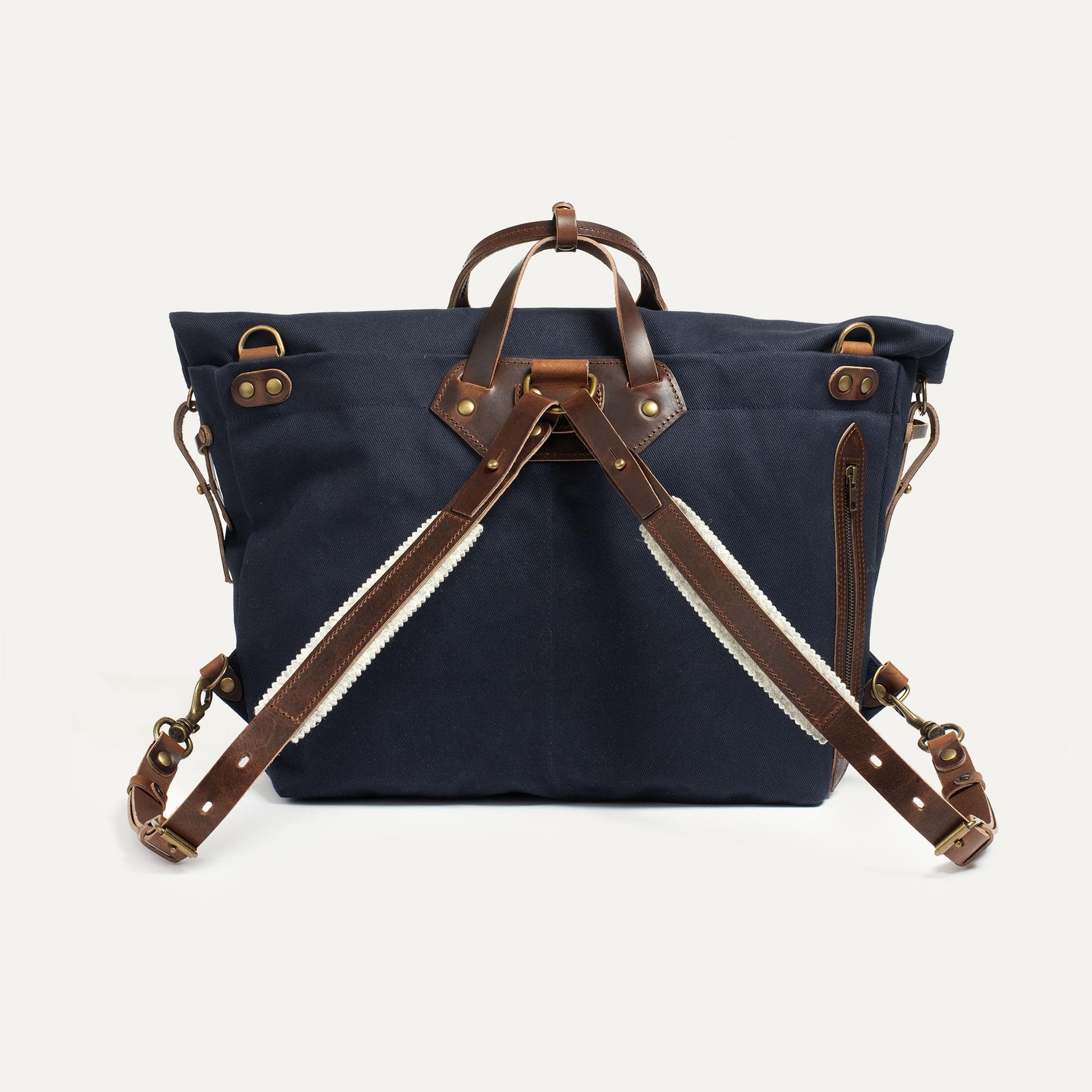 Woody L Backpack - Peacoat Blue (image n°3)