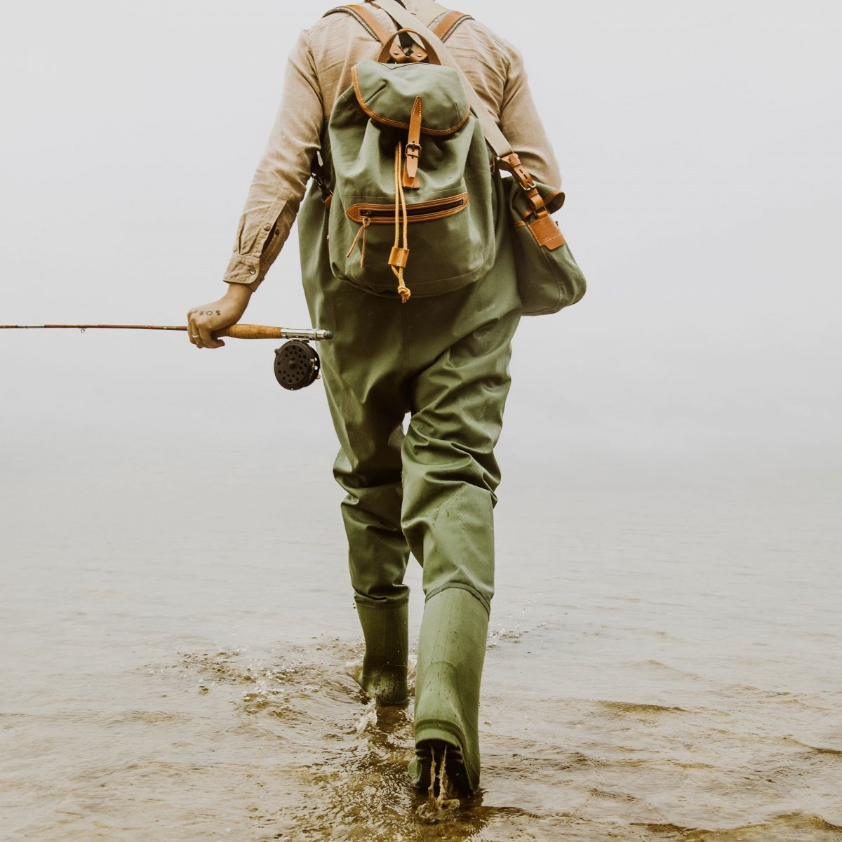 Camp backpack - Dark Khaki (image n°5)