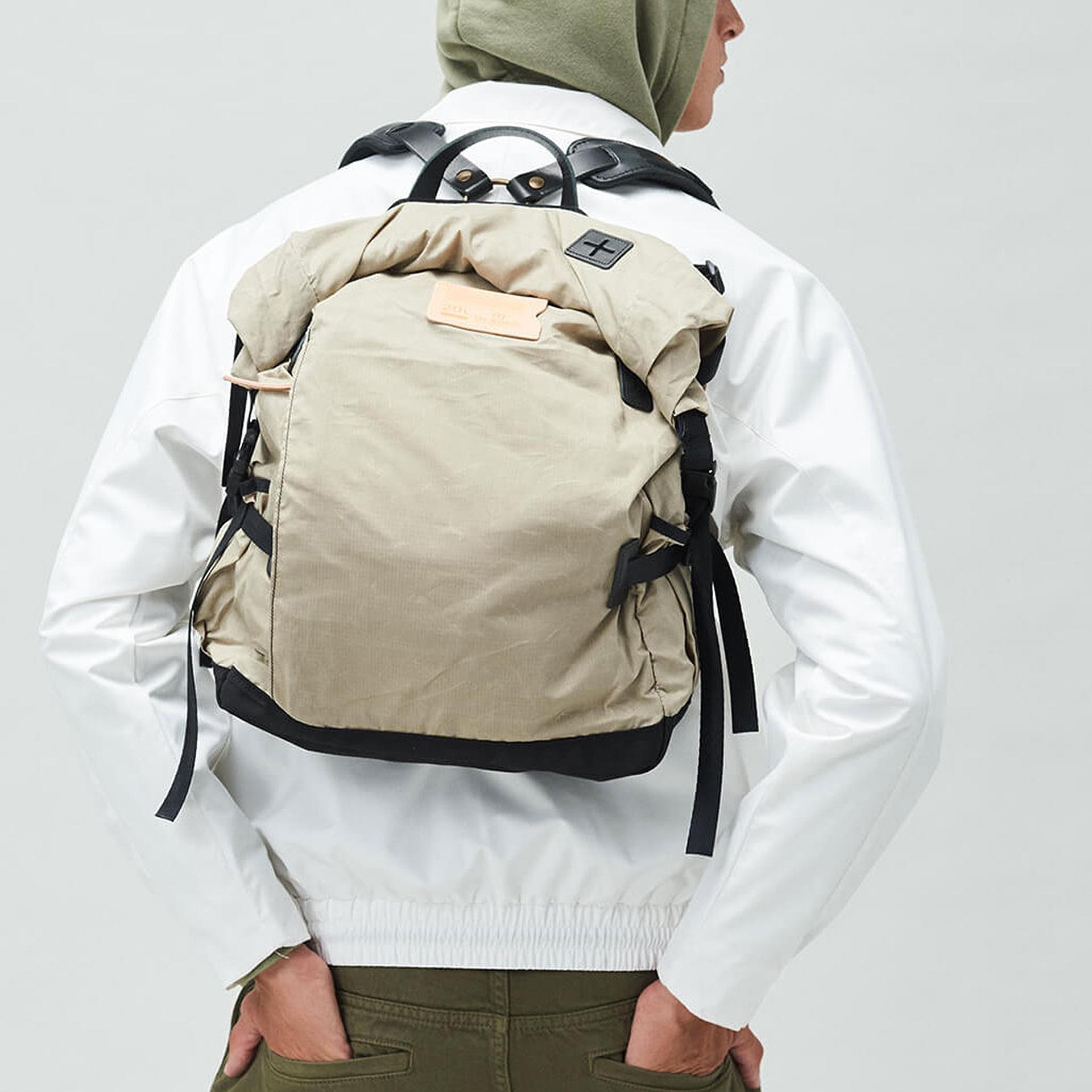 20L Basile Backpack - Beige (image n°6)