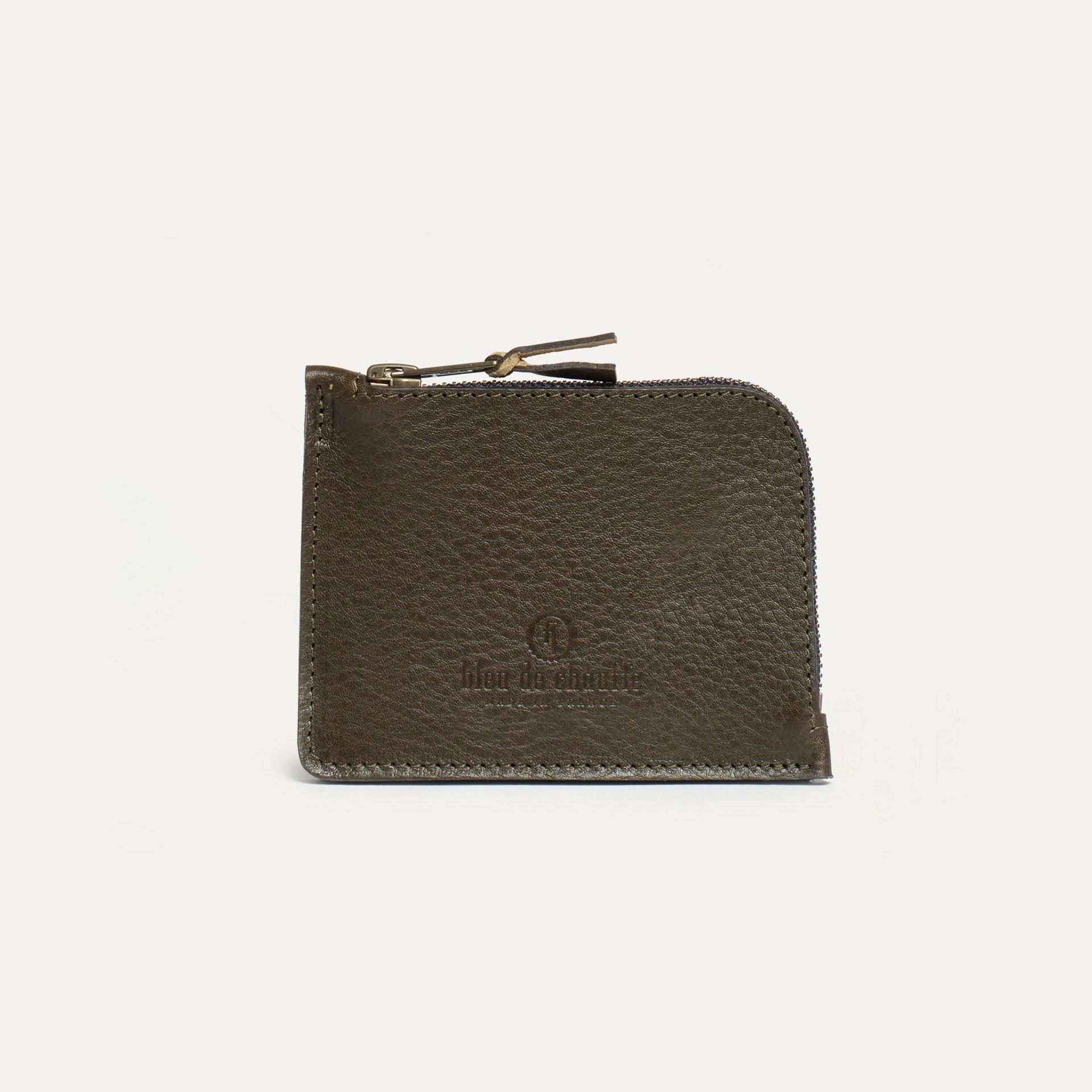 As zippered purse / M - Khaki (image n°1)