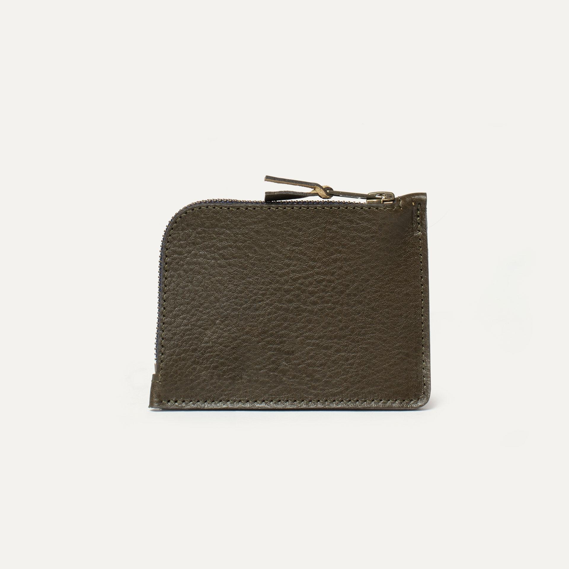 As zippered purse / M - Khaki (image n°2)