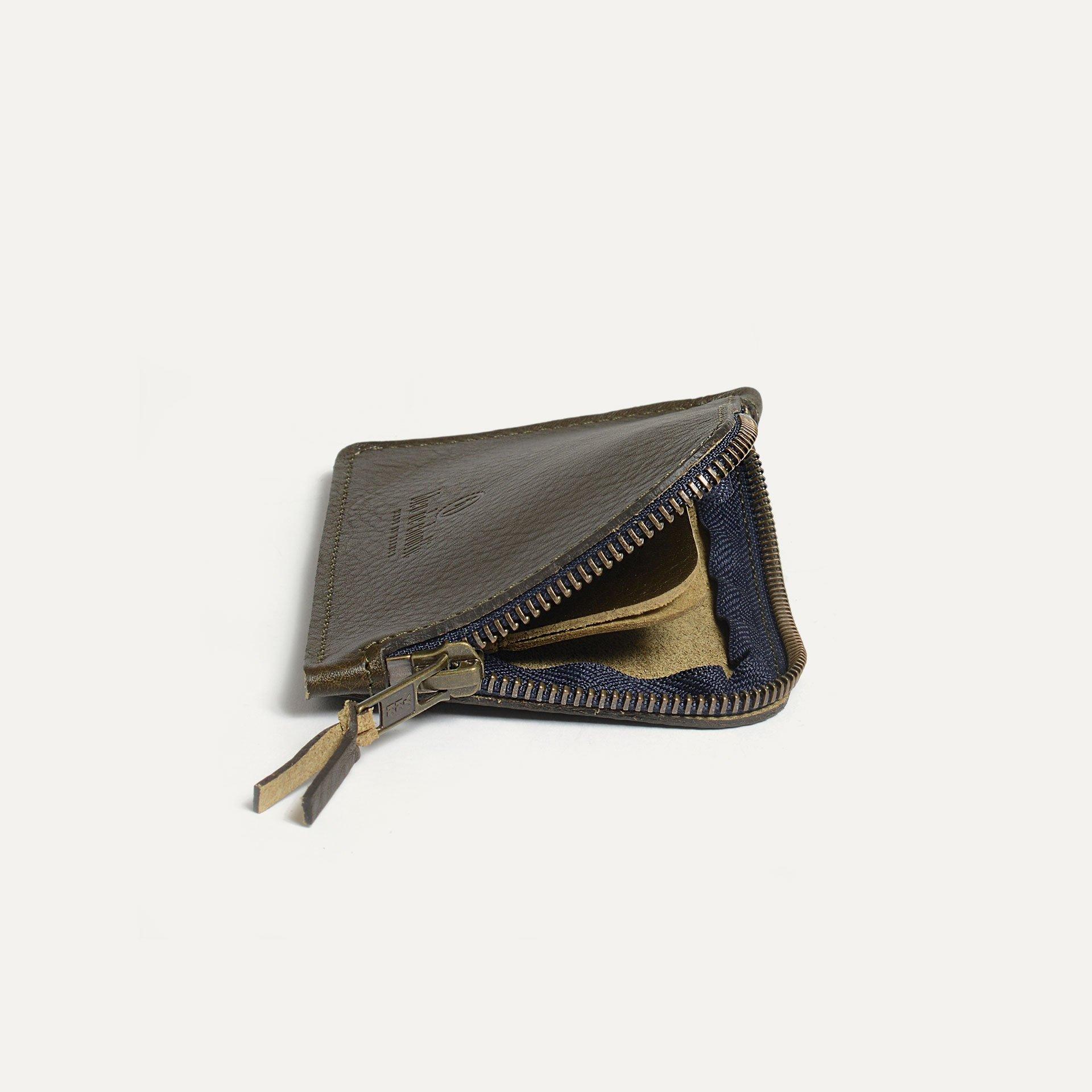 As zippered purse / M - Khaki (image n°3)