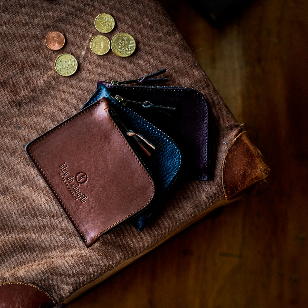 As zippered purse / M - Khaki (image n°4)