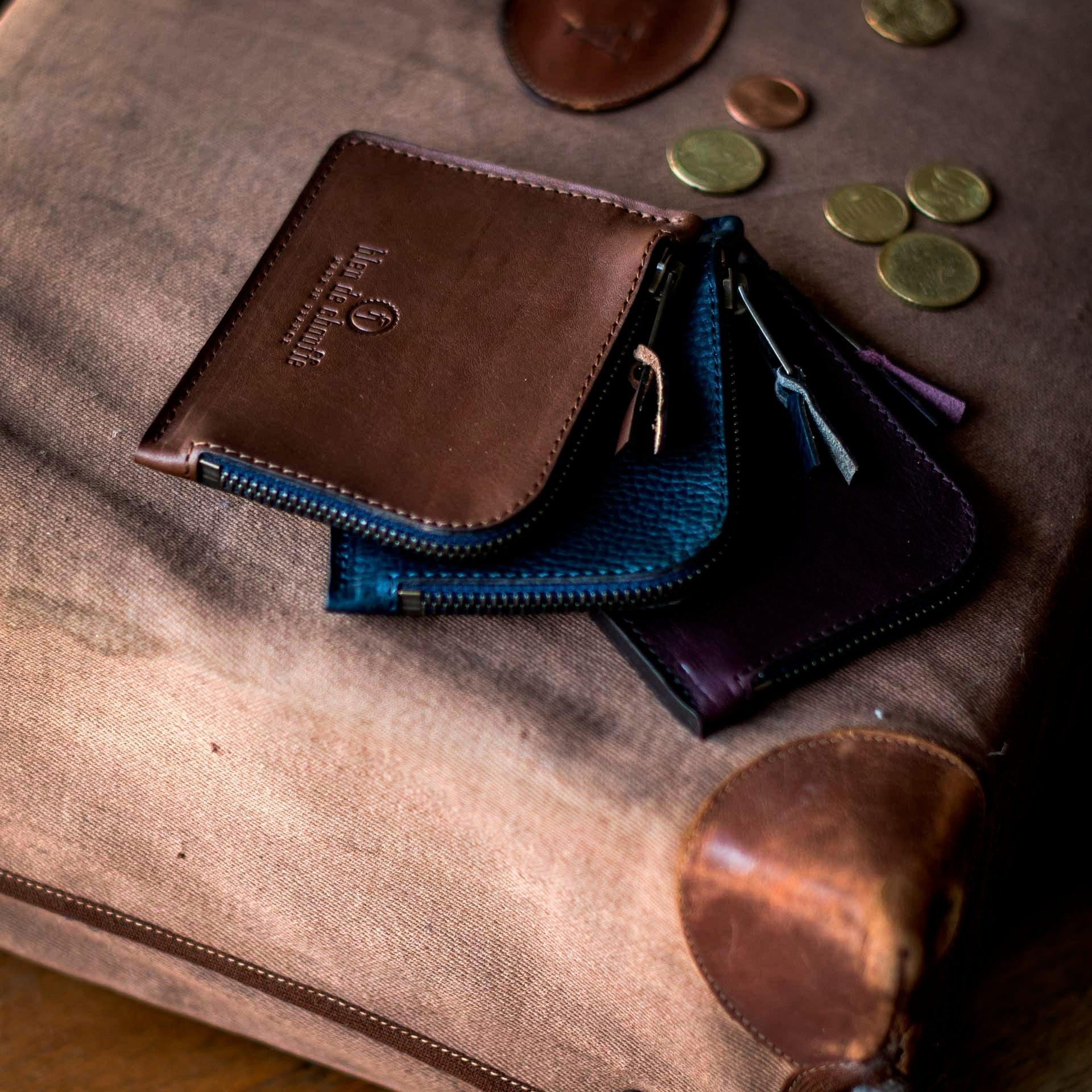As zippered purse / M - Khaki (image n°5)