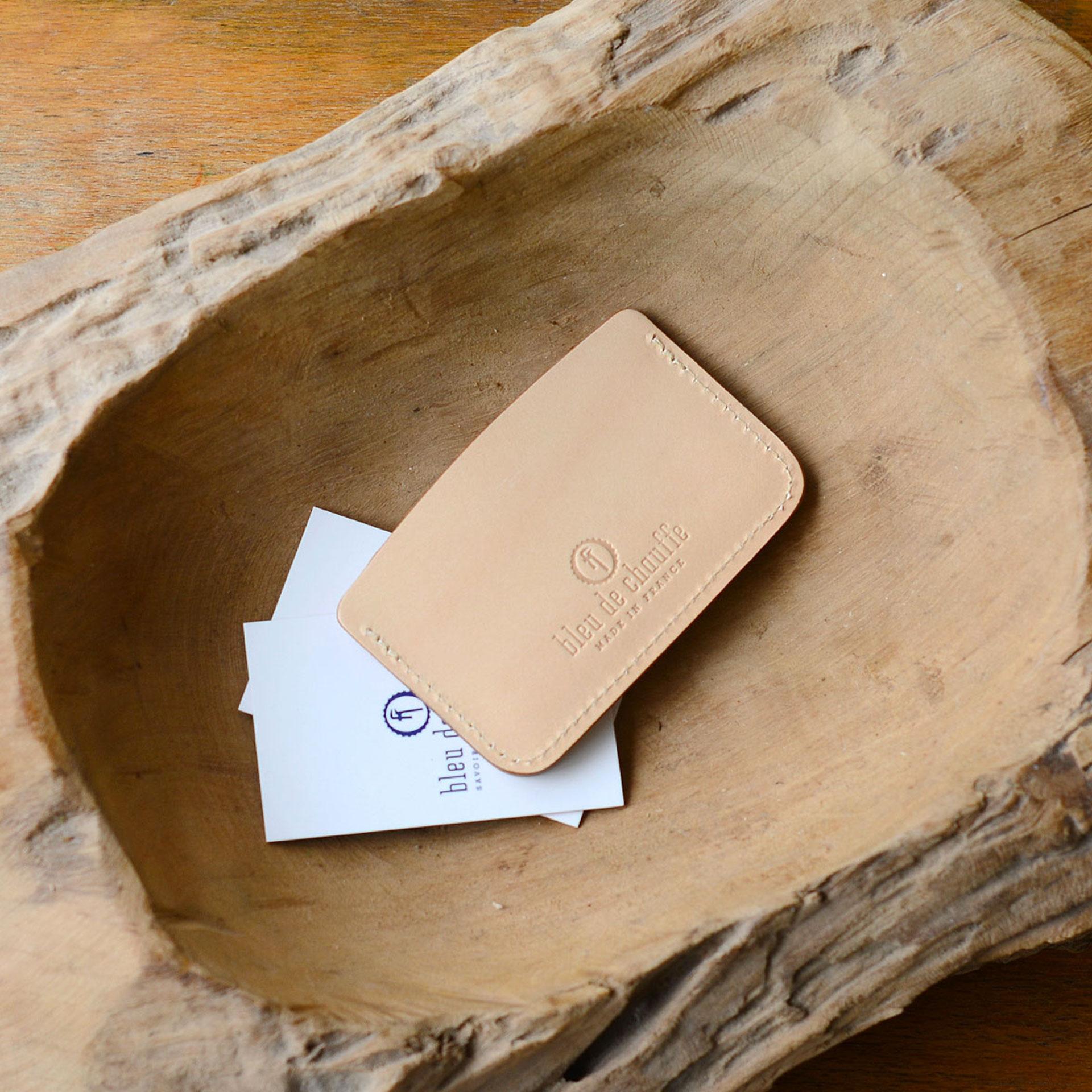 Porte cartes Visamex - Naturel (image n°3)