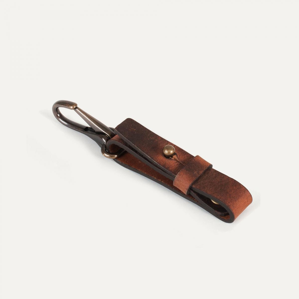 Porte clé Mousse - Pain Brûlé (image n°2)