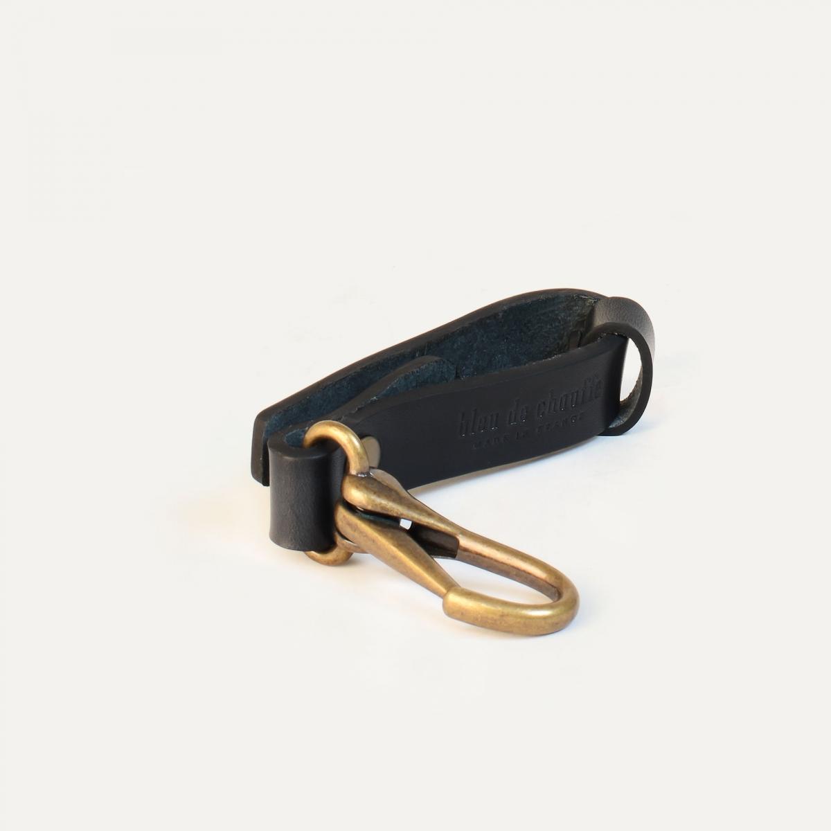 Mousse key ring - Black (image n°1)