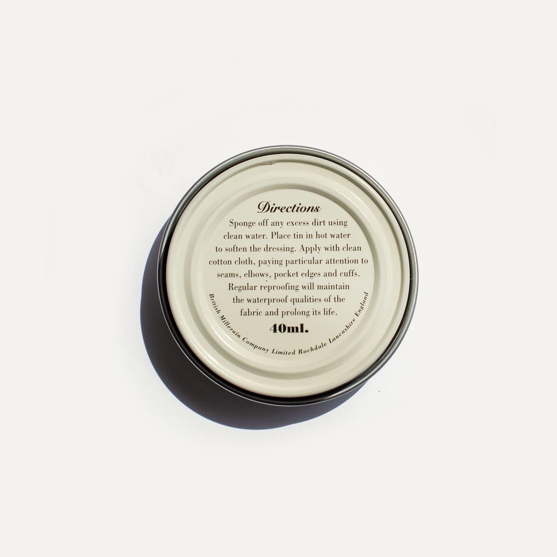 Cire rénovatrice - Toile coton waxée (image n°2)