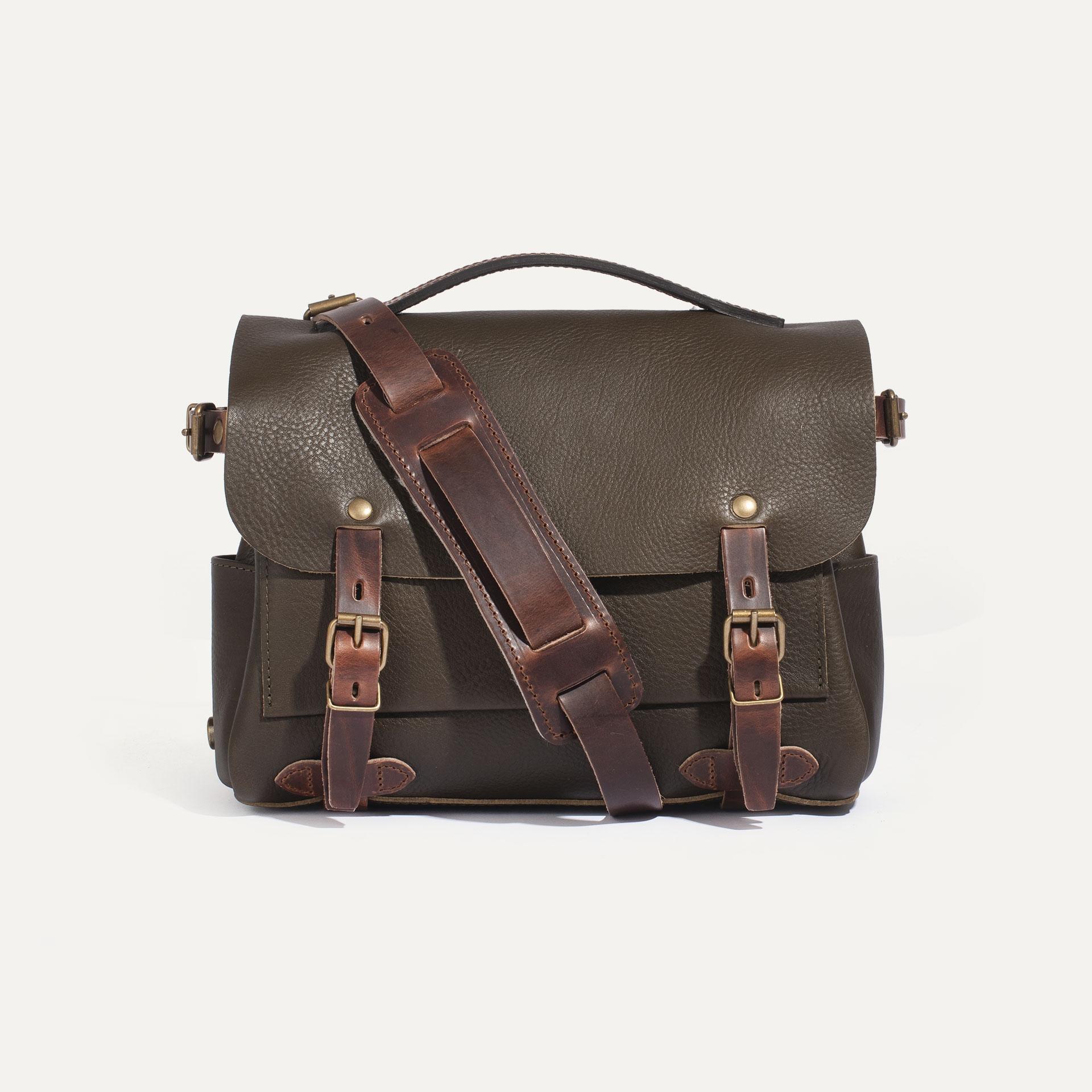 Postman bag Éclair S - Khaki (image n°1)