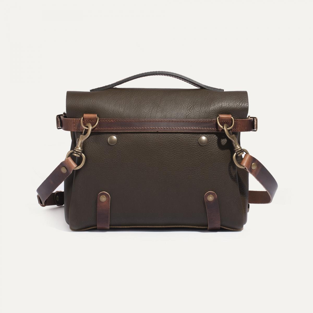 Postman bag Éclair S - Khaki (image n°3)