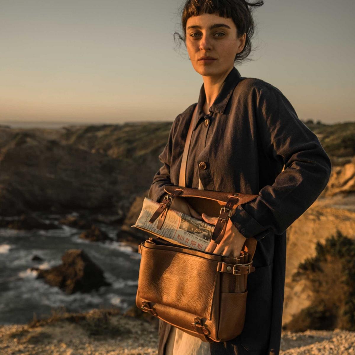 Postman bag Éclair S - Khaki (image n°7)