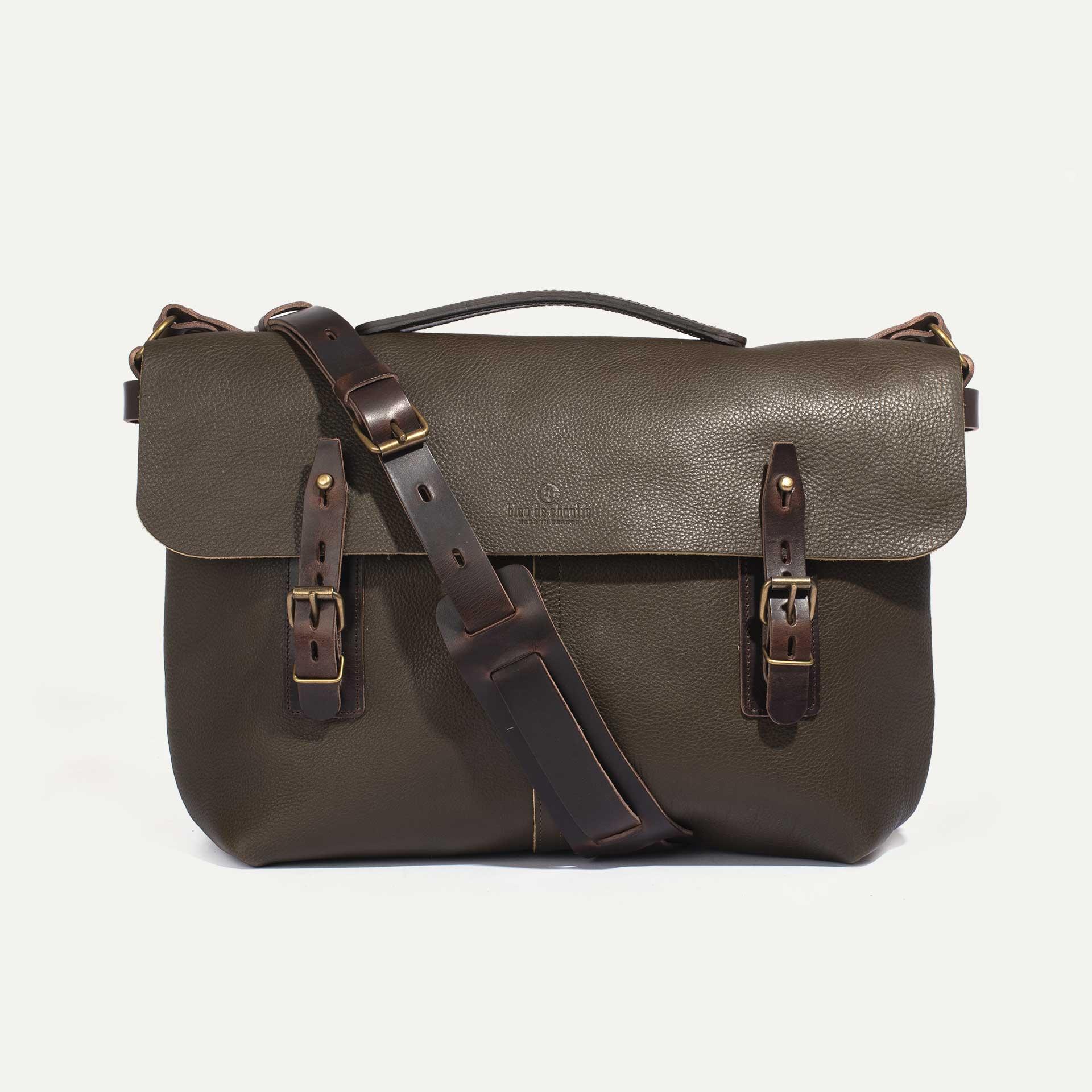 Lucien Satchel bag - Khaki (image n°1)