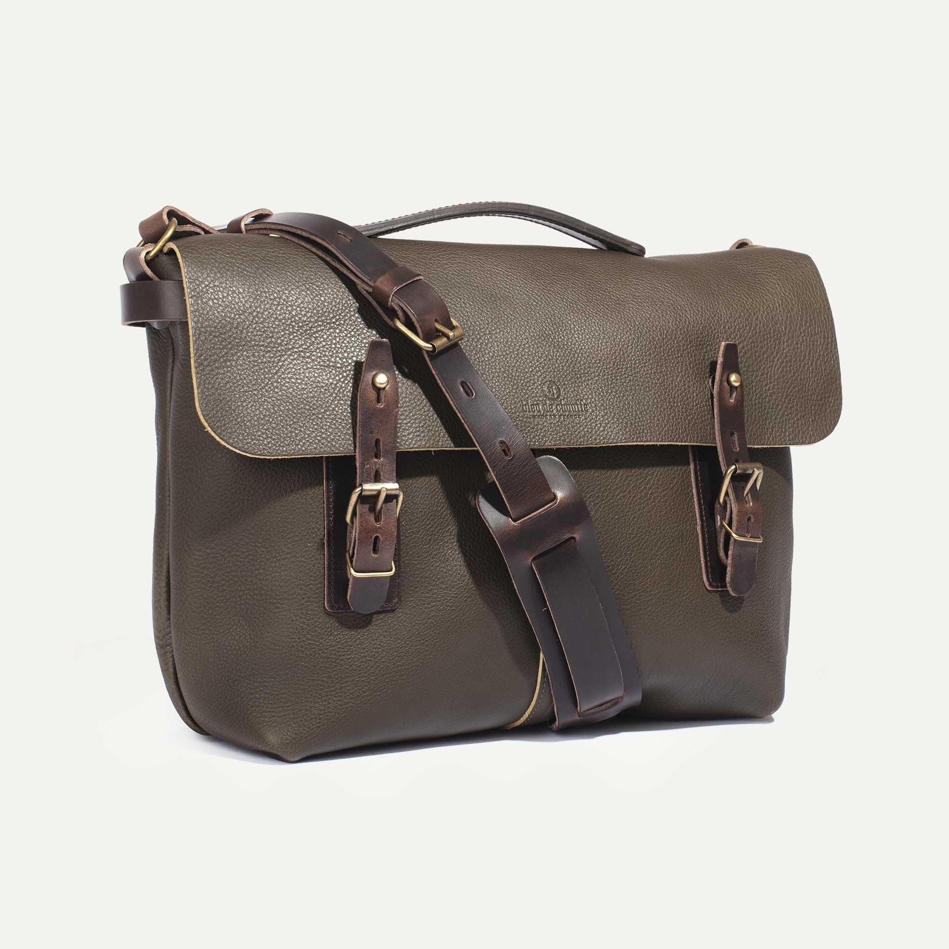 Lucien Satchel bag - Khaki (image n°2)