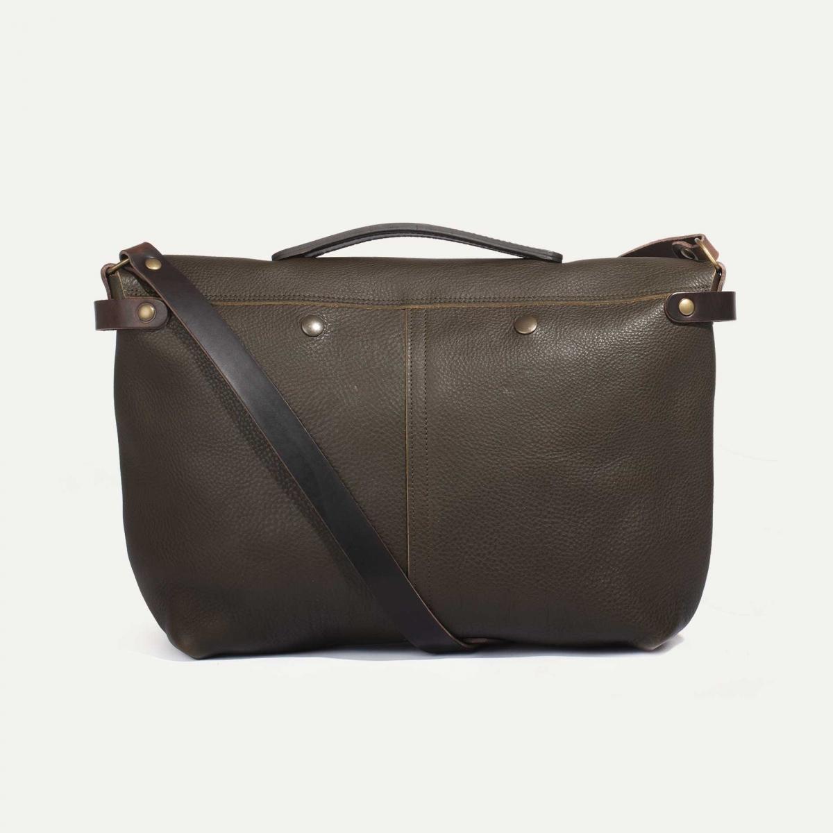 Lucien Satchel bag - Khaki (image n°3)