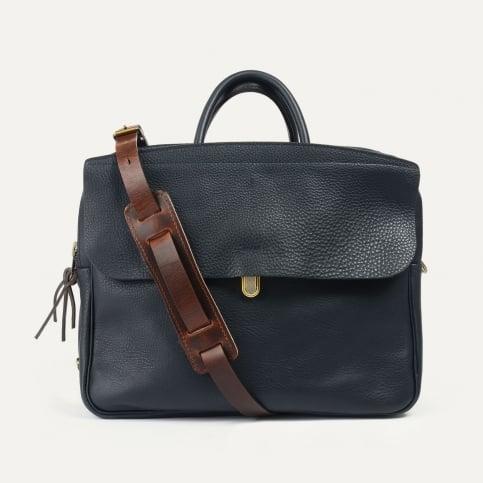 Zeppo Business bag - Navy Blue / E Pure