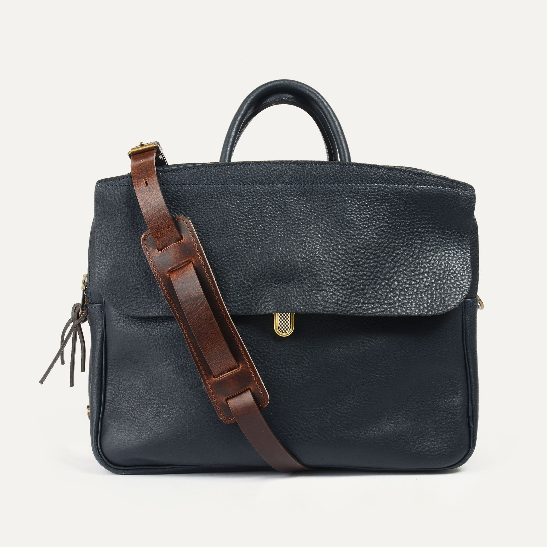 Zeppo Business bag - Navy Blue / E Pure (image n°1)