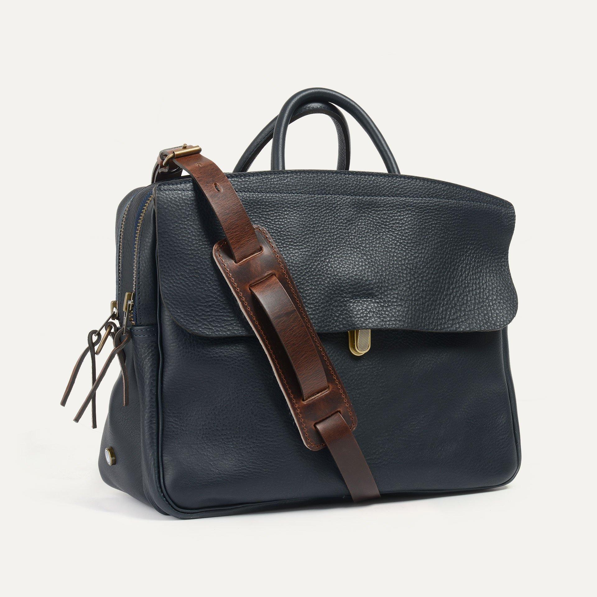 Zeppo Business bag - Navy Blue / E Pure (image n°2)