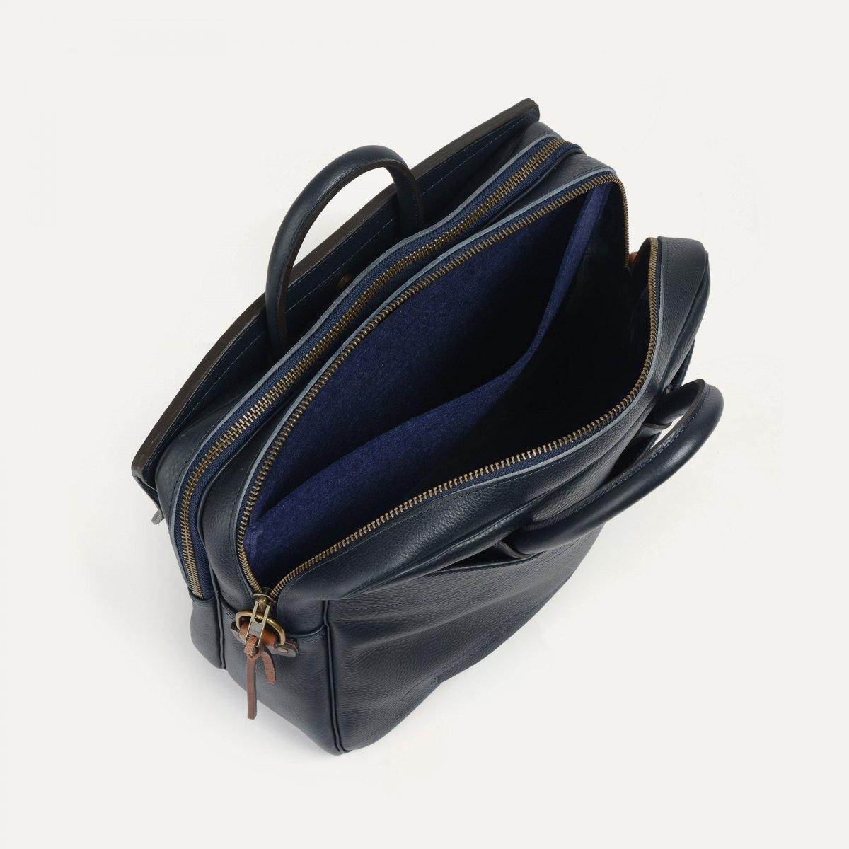 Zeppo Business bag - Navy Blue / E Pure (image n°4)