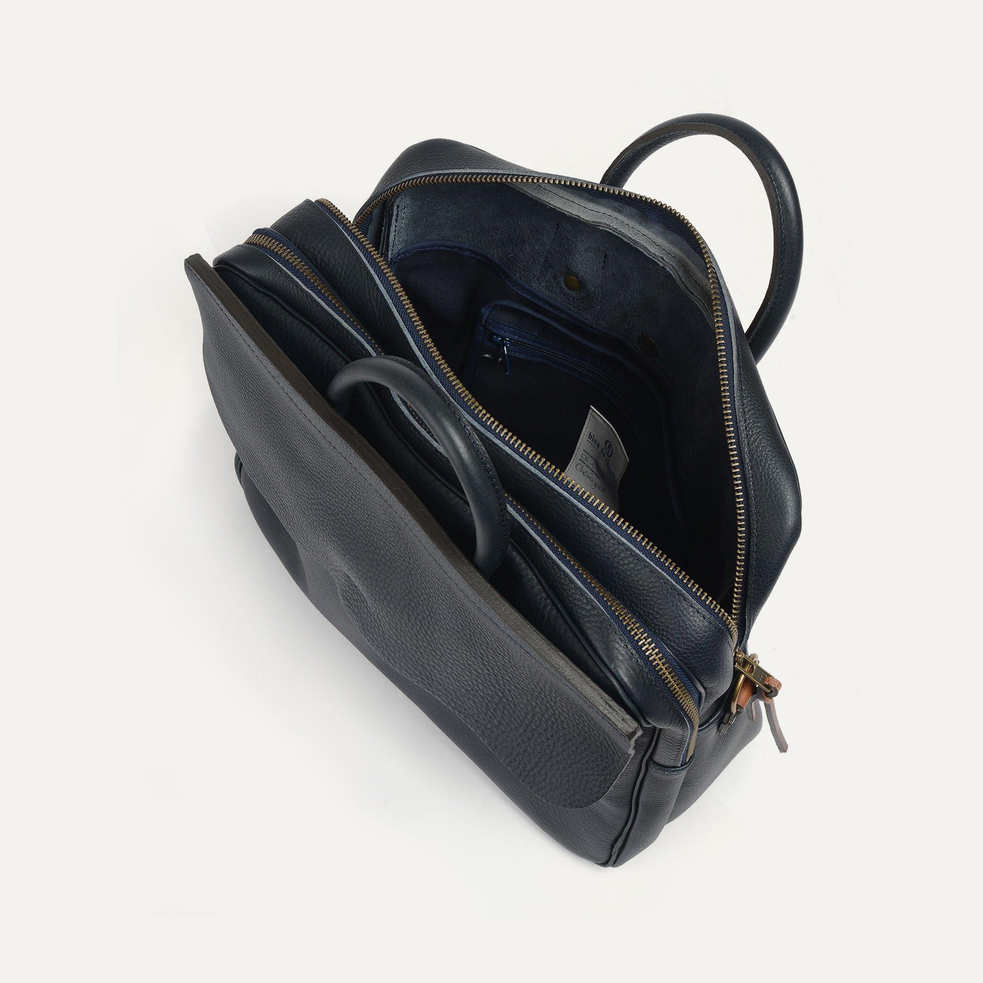 Zeppo Business bag - Navy Blue / E Pure (image n°5)
