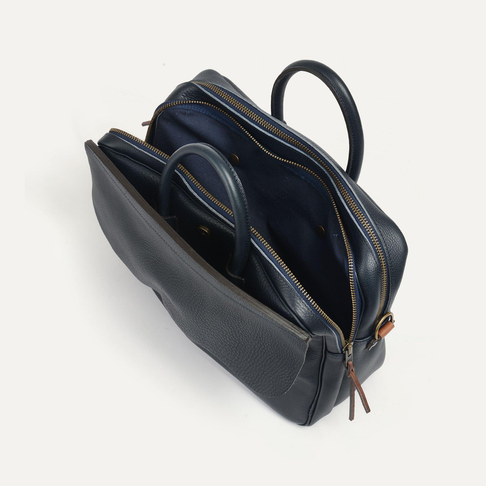 Zeppo Business bag - Navy Blue / E Pure (image n°6)