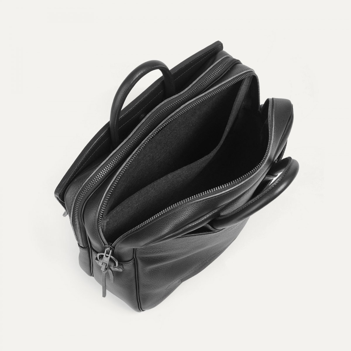 Zeppo Business bag - Dark Brown / E Pure (image n°3)