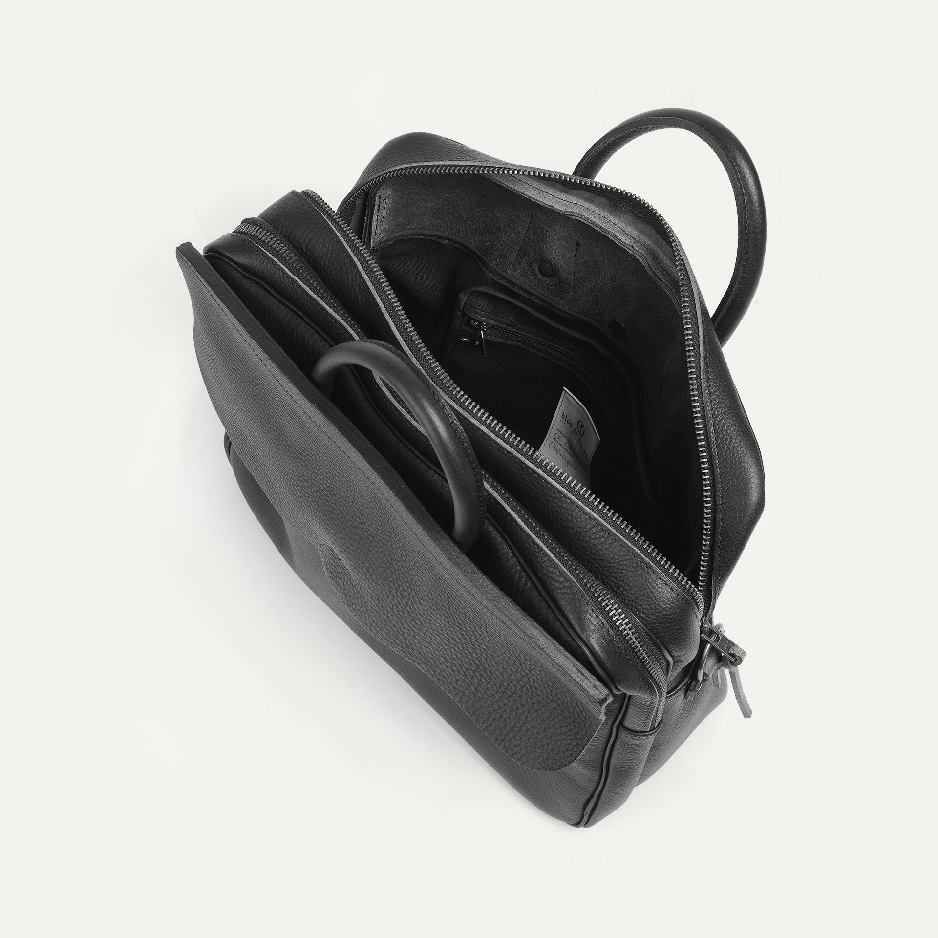 Zeppo Business bag - Dark Brown / E Pure (image n°4)