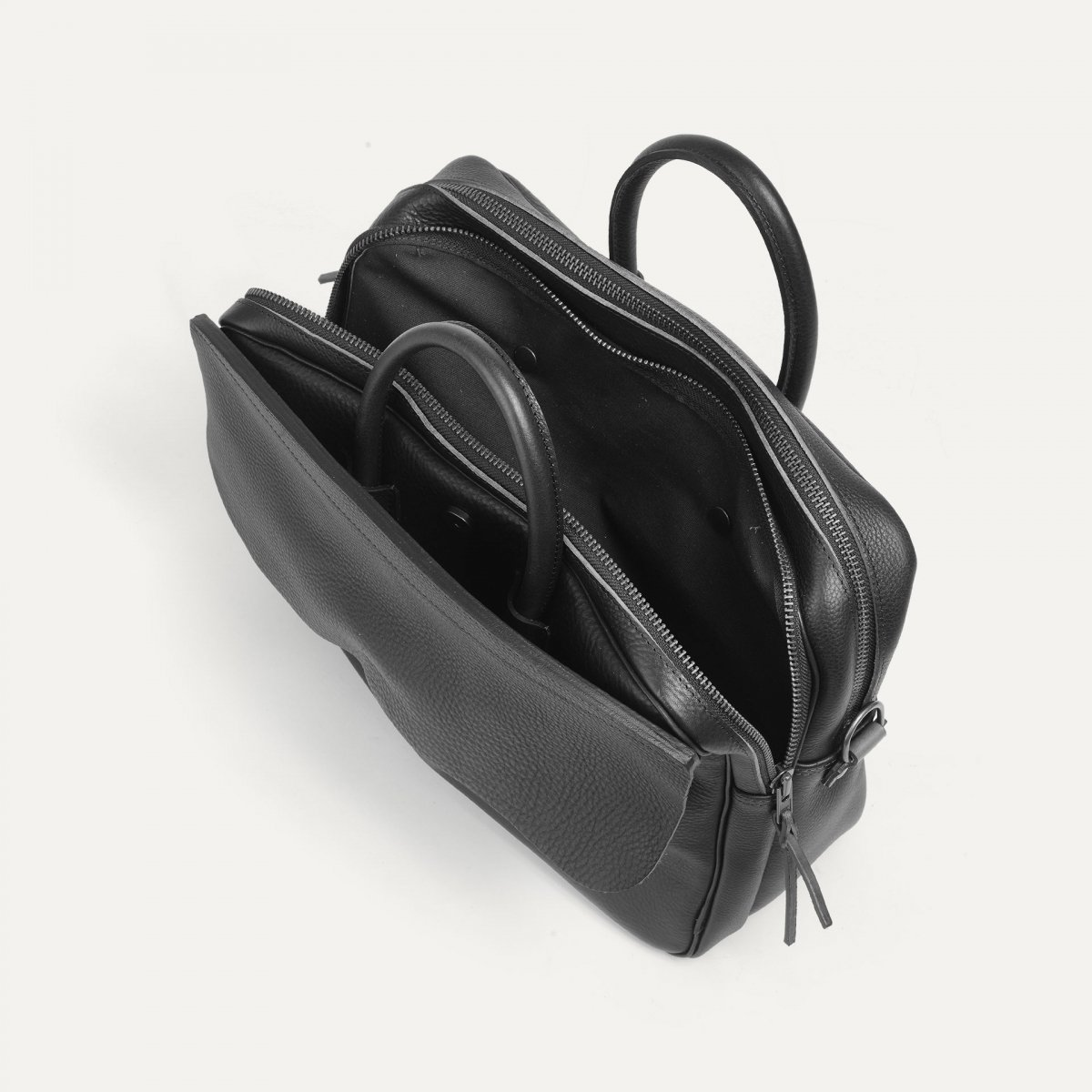 Zeppo Business bag - Dark Brown / E Pure (image n°5)