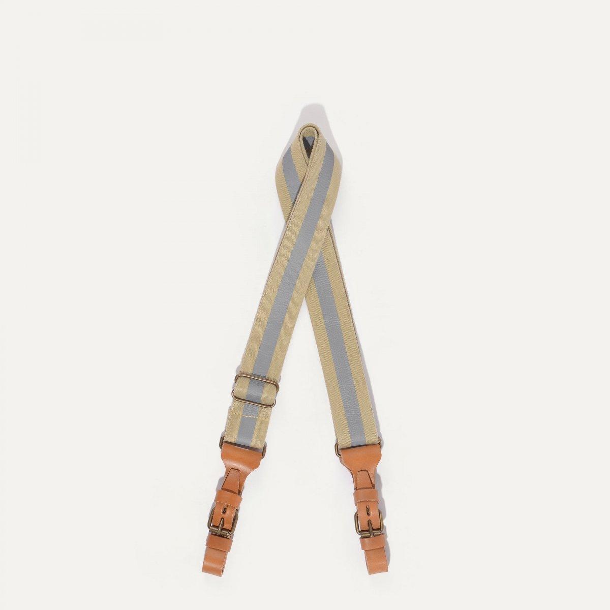 Musette STRIPE shoulder strap - Reflective (image n°1)