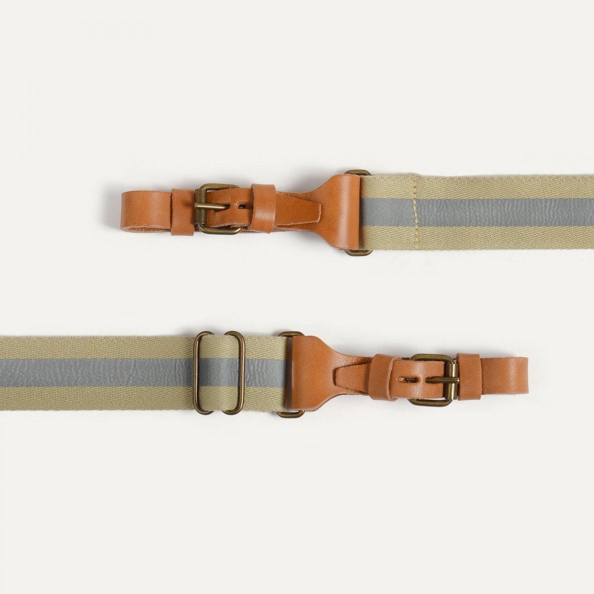 Musette STRIPE shoulder strap - Reflective (image n°2)