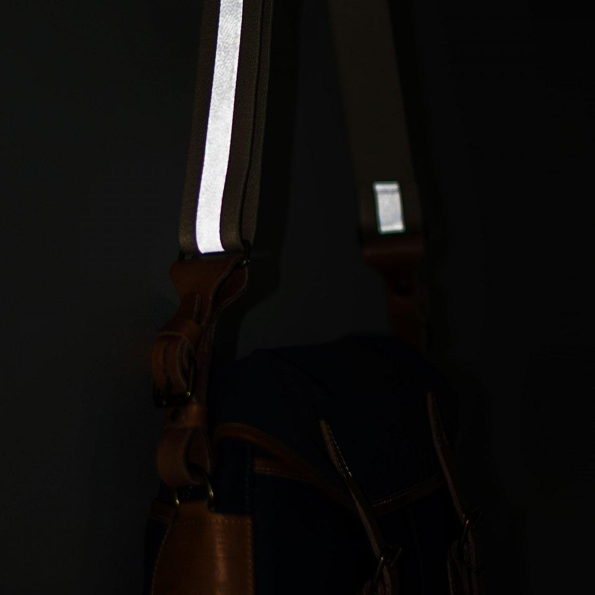 Musette STRIPE shoulder strap - Reflective (image n°6)