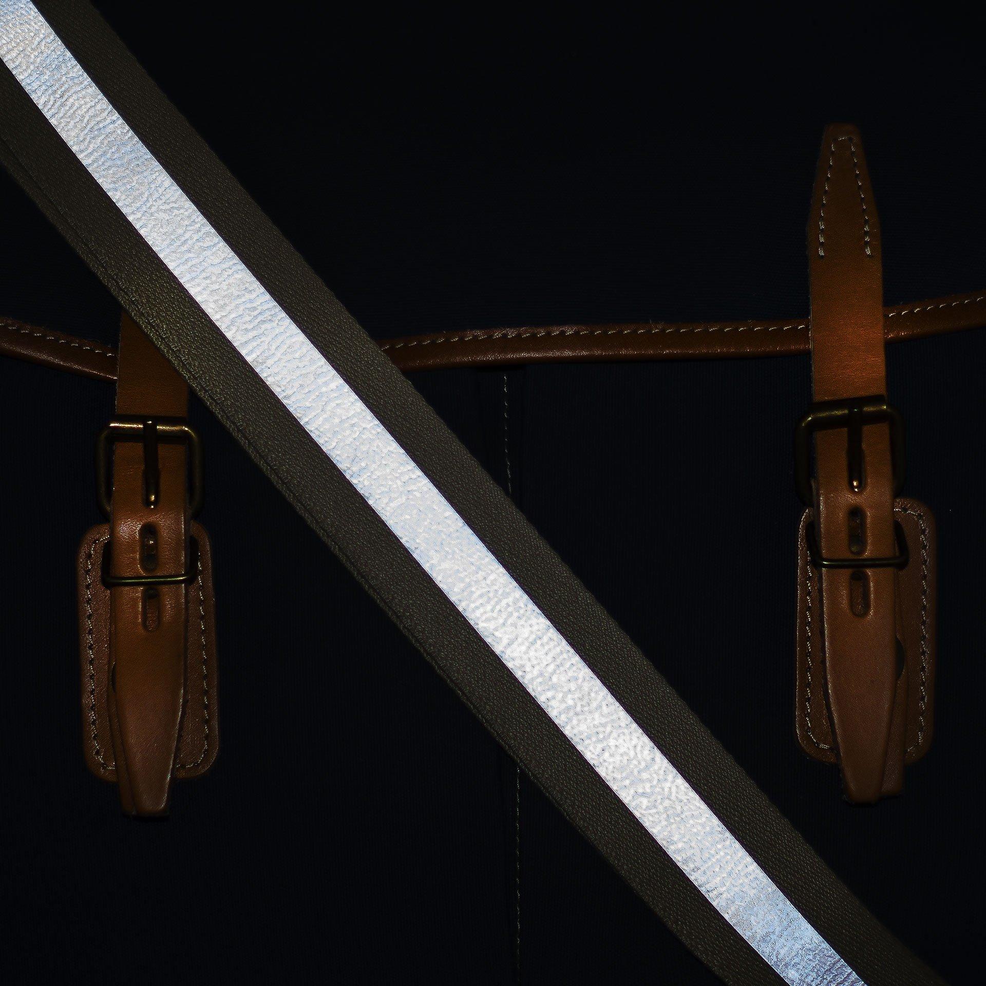 Musette STRIPE shoulder strap - Reflective (image n°7)