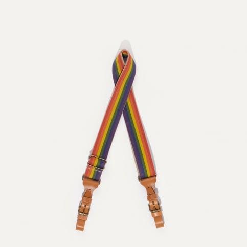 STRIPE shoulder strap - Rainbow
