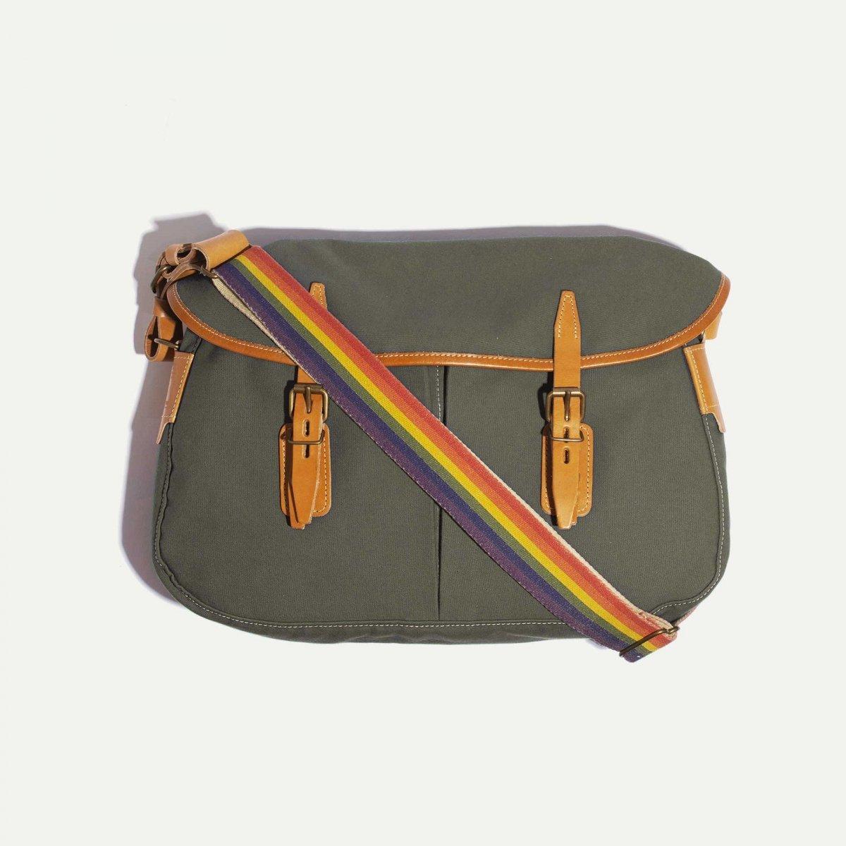 Musette STRIPE shoulder strap - Rainbow (image n°4)