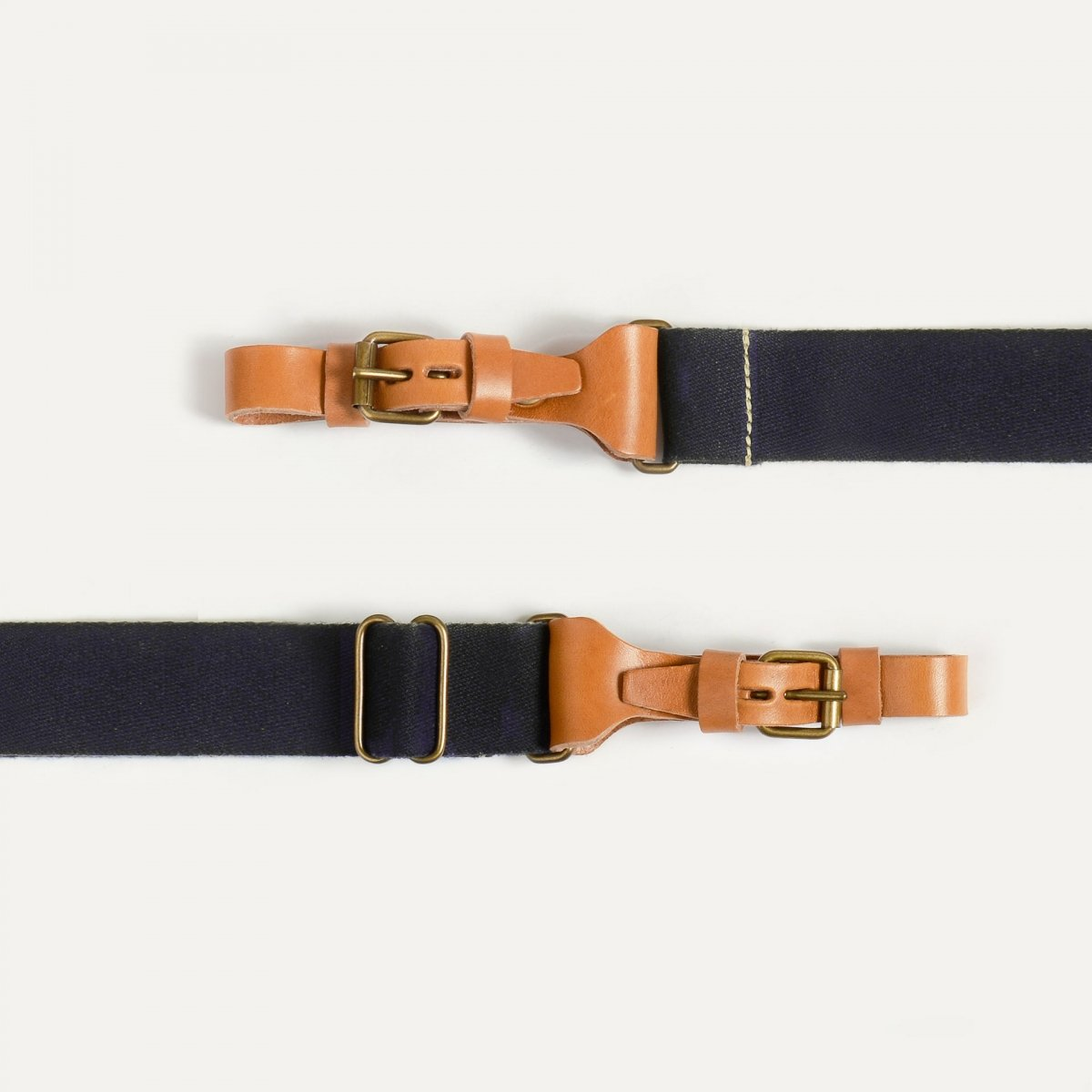 Musette STRIPE shoulder strap - Marine Blue (image n°2)
