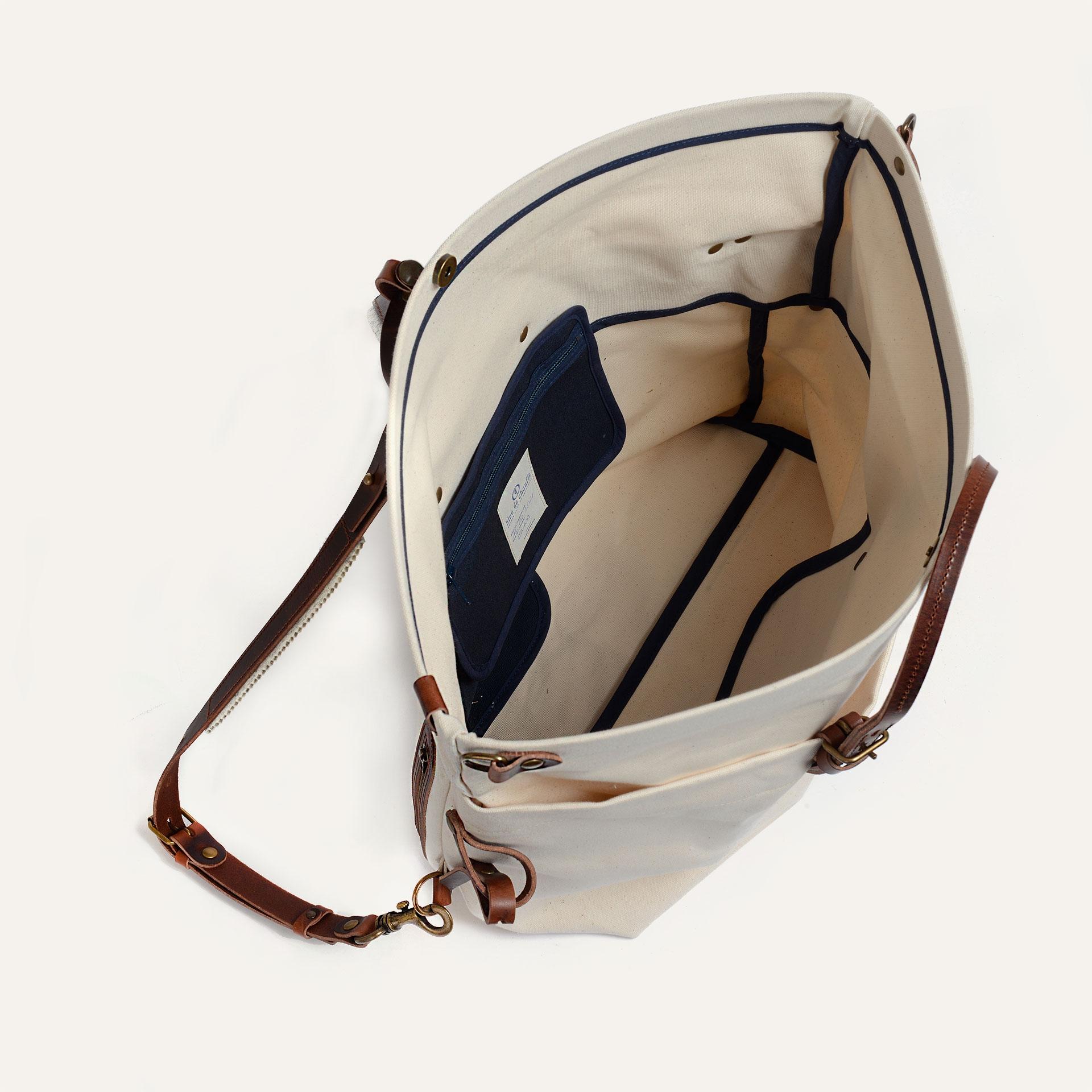 Woody L Backpack - Ecru / Pain Brule (image n°4)