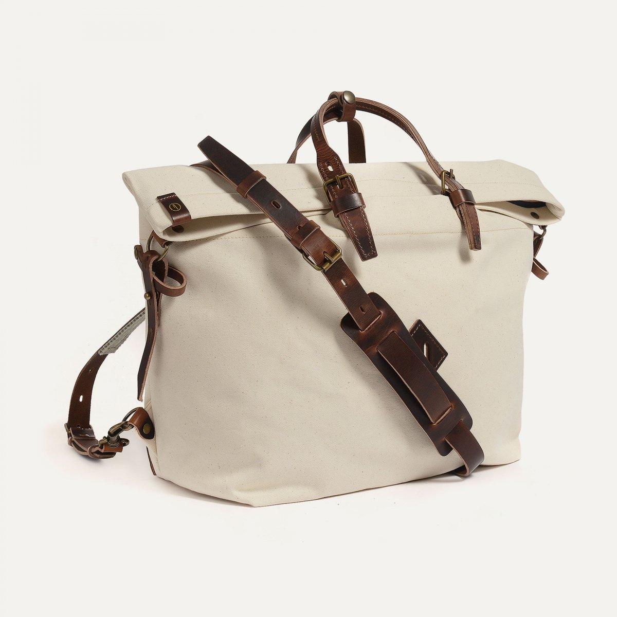 Woody L Backpack - Ecru / Pain Brule (image n°2)