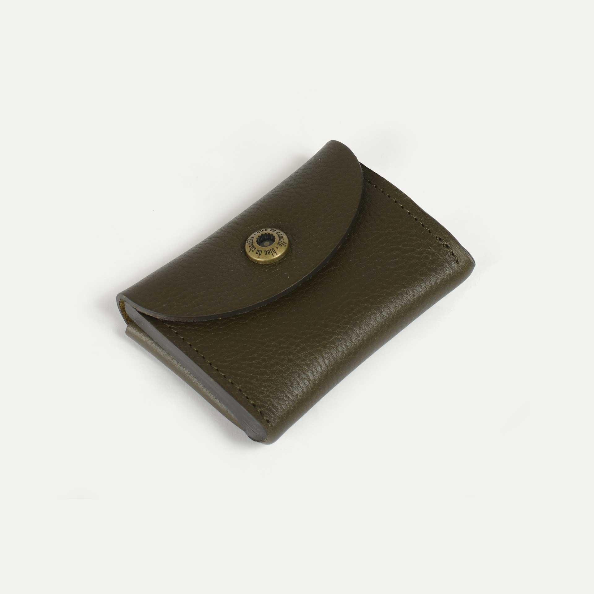 Talbin Shoemaker purse - Khaki (image n°2)