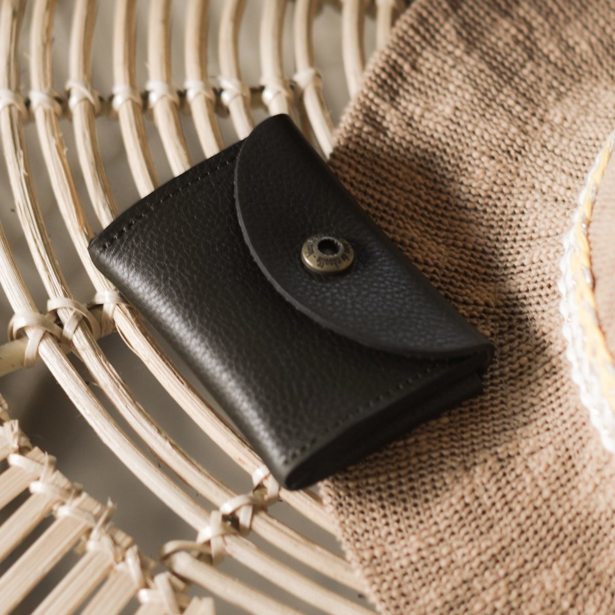 Talbin Shoemaker purse - Khaki (image n°4)