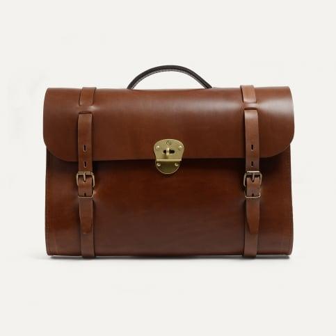 SCOTT, The writer's bag - Camel/Pain Brûlé