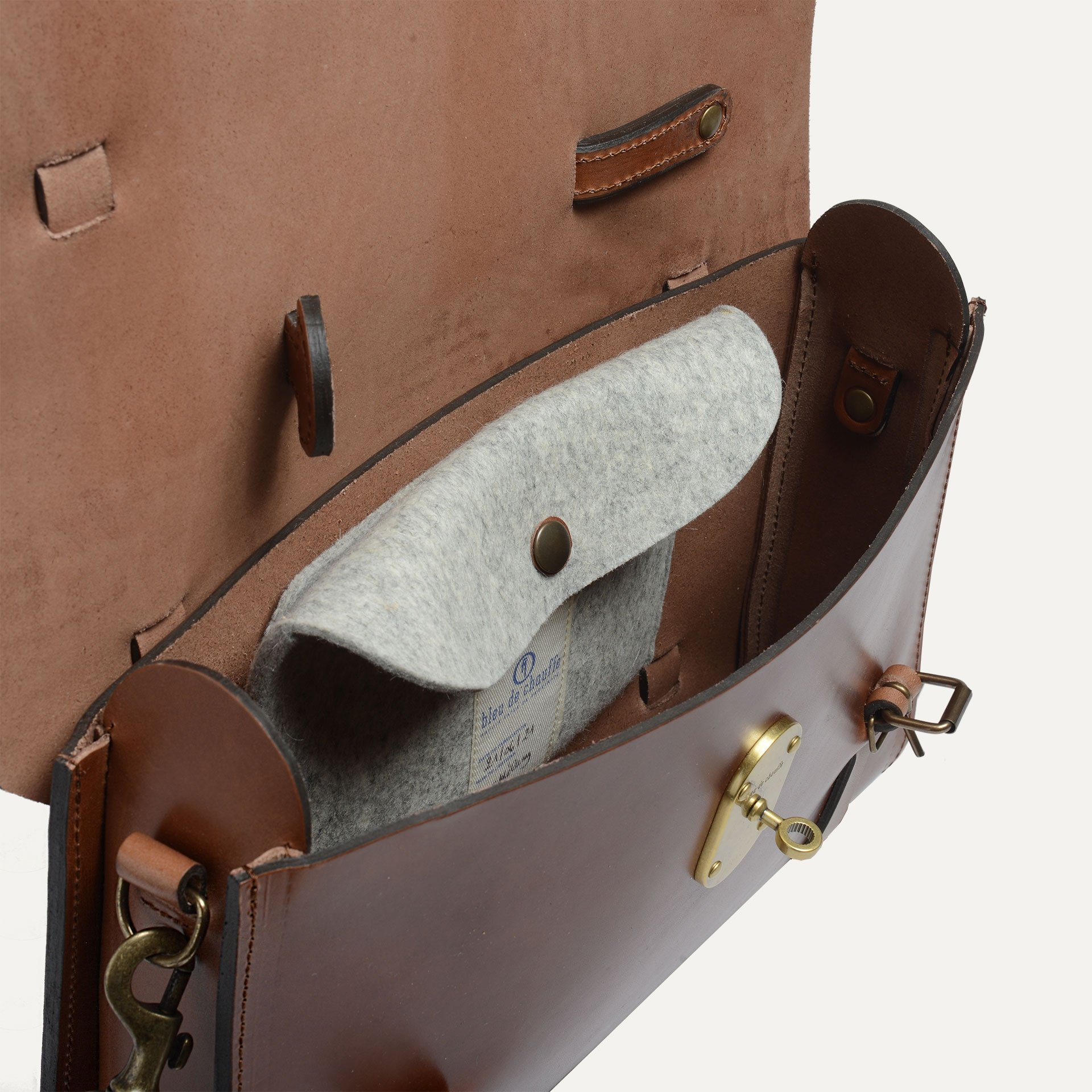 SCOTT, The writer's bag - Camel/Pain Brûlé (image n°5)